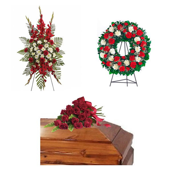 Pure Devotion Funeral Flower Package buy at Florist