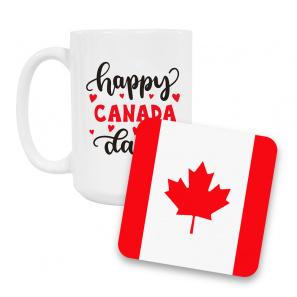 Canada Day Coffee Mug and Coaster Set II buy at Florist