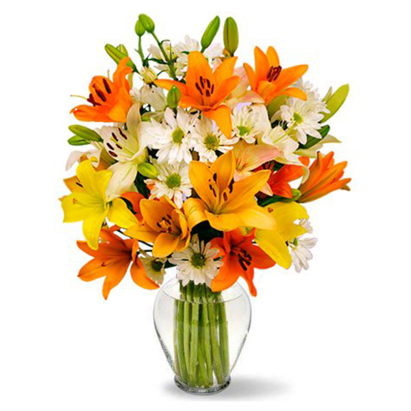 Celestial Lilies Bouquet buy at Florist