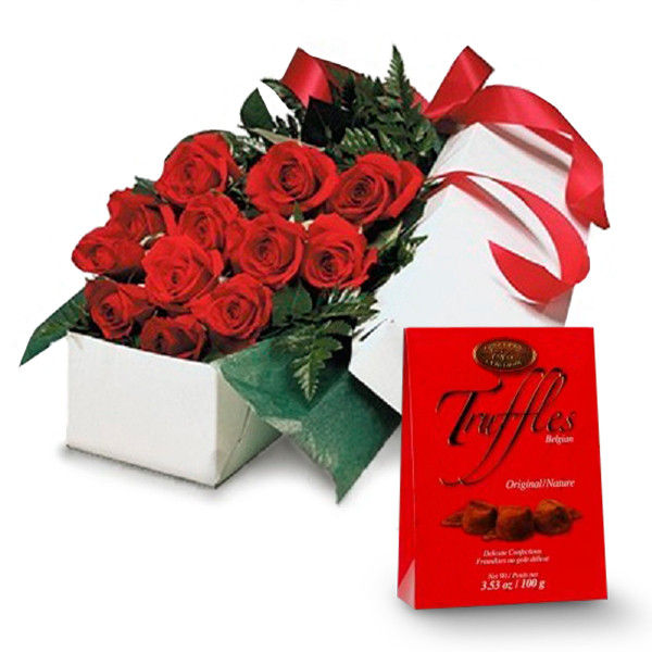 Deluxe Gift Package & Truffles buy at Florist