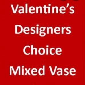 Designer Choice Vase