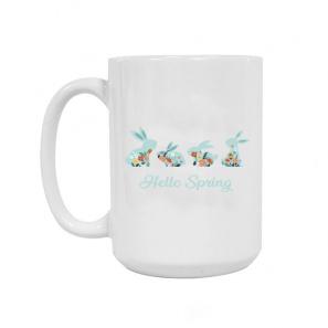 Hello Spring Ceramic Mug 15oz buy at Florist