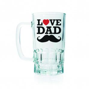 Love Dad Beer Mug