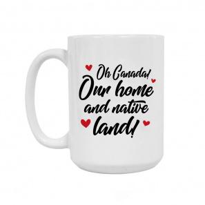 Oh Canada Ceramic Coffee Mug 15oz buy at Florist