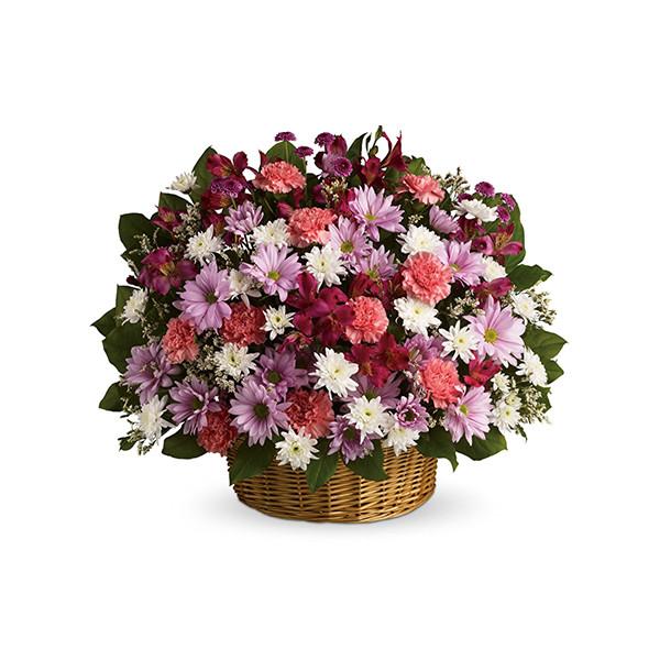 Rainbow Reflections Basket buy at Florist