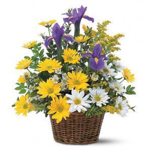 Smiling Floral Basket buy at Florist